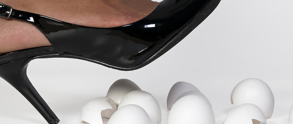 Are you Walking on Eggshells Around Difficult Conversations Mary Rafferty Consensus Mediation